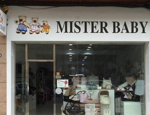 Fachada tienda ropa bebés