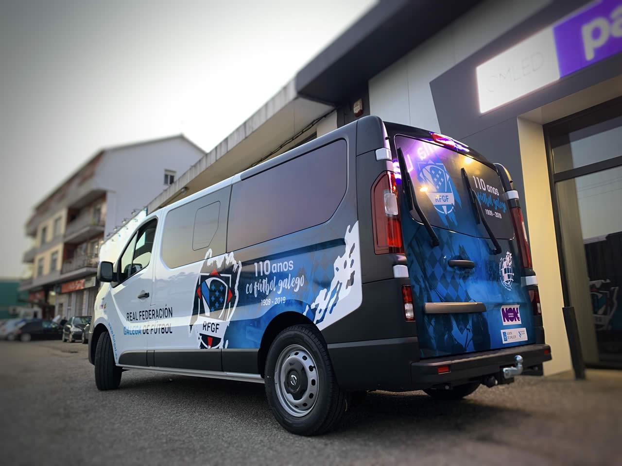 Rotulación de furgonetas y vehículos en Pontevedra - ESPACIO DIXITAL